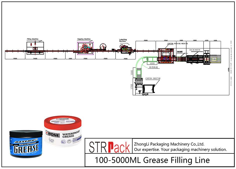 100ML-5L自動注脂線