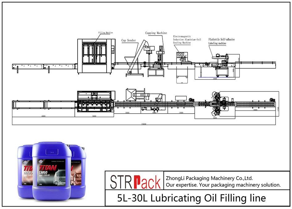 5L-30L自動注油線