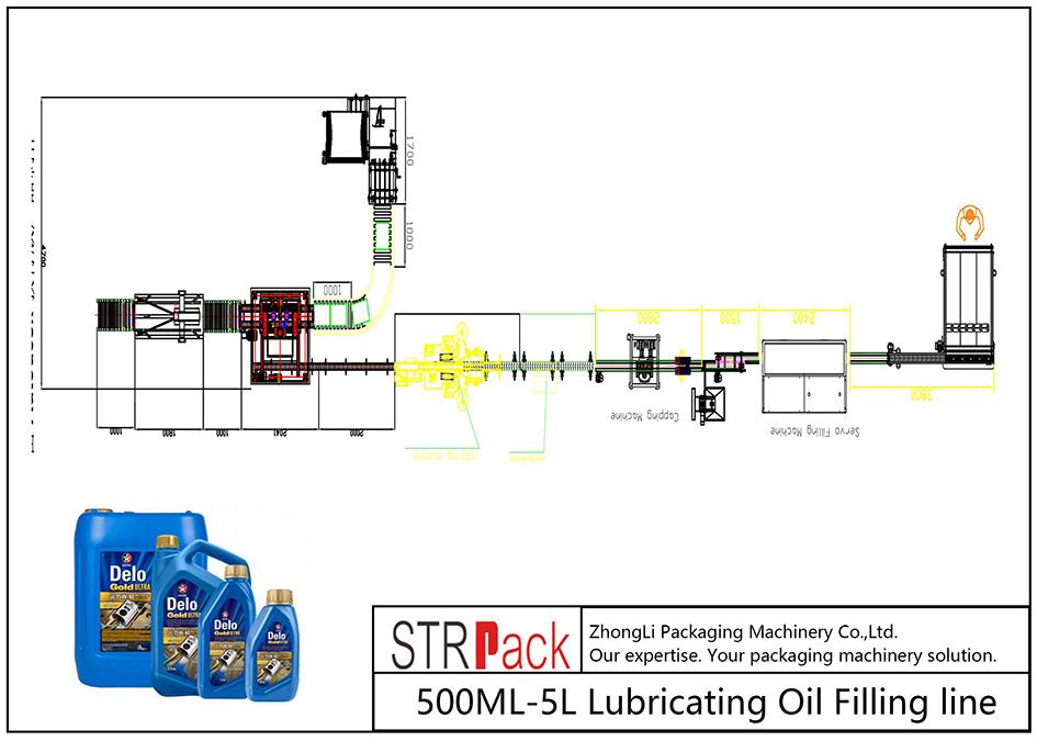 500ML-5L自動注油線