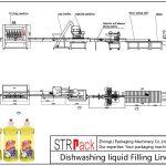 自動洗碗液灌裝線
