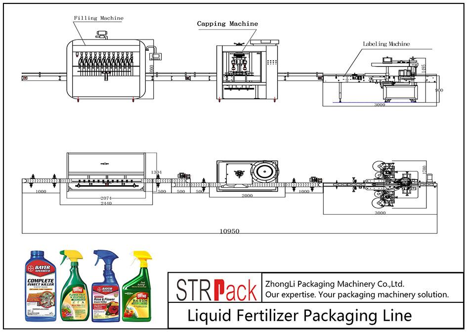液體肥料自動包裝線