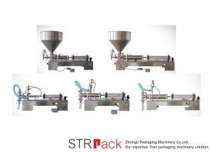 半自動活塞式液體灌裝機